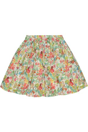 BONPOINT Suzon floral cotton skirt