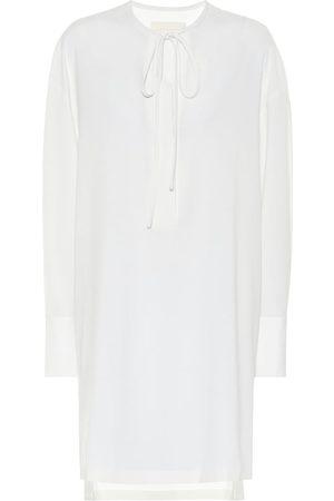 Low Classic Wool-blend minidress