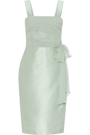 Max Mara Bardies cotton and silk sheath dress