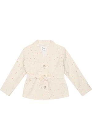 BONPOINT Girls Jackets - Naoli dotted tweed jacket