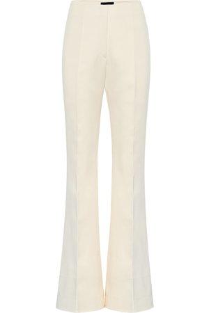 Joseph Women Wide Leg Pants - Tavi high-rise cotton-sateen pants