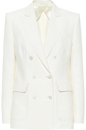 Max Mara Women Blazers - Ottuso linen and silk blazer
