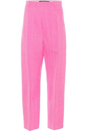Jacquemus Women Straight Leg Pants - Le pantalon Santon high-rise pants