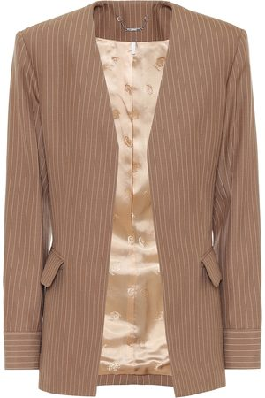 Chloé Women Blazers - Pinstripe wool blazer