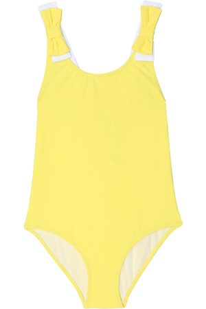 Il gufo Girls Swimsuits - Bow-trimmed swimsuit
