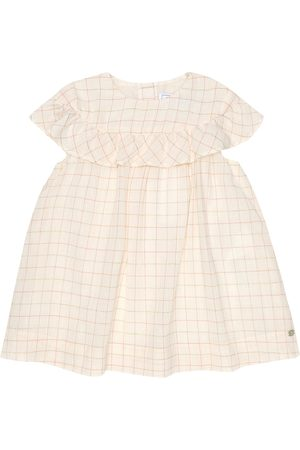Tartine Et Chocolat Baby Dresses - Baby checked cotton-blend dress