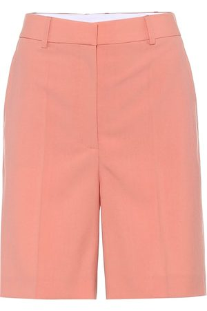 Stella McCartney Amber wool Bermuda shorts