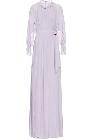 Roland Mouret Women Maxi Dresses - Evora silk-georgette maxi dress
