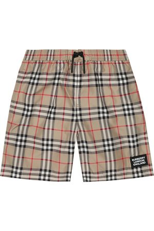Burberry Vintage Check swim trunks