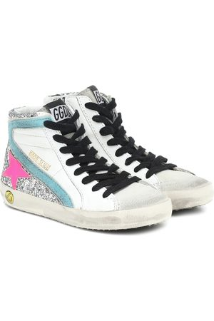 Golden Goose Girls Sneakers - Lea high-top leather sneakers