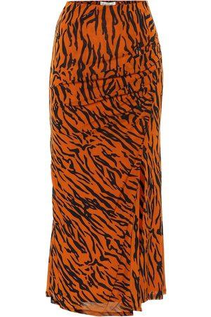 Diane von Furstenberg Women Maxi Skirts - Edna mesh midi skirt