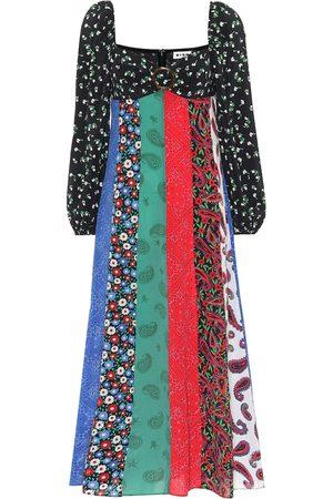 RIXO London Women Printed Dresses - Ivy printed silk dress