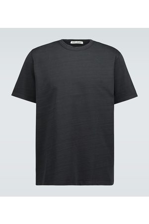OUR LEGACY Men Short Sleeve - New Box cotton T-shirt
