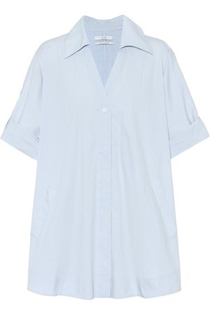 CO Women Long sleeves - Tton-blend poplin shirt