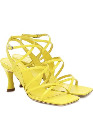 By Far Women Sandals - Christina leather sandals
