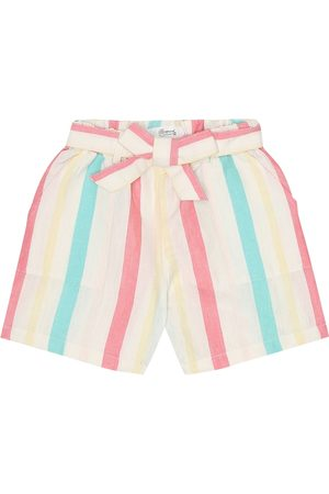 BONPOINT Gustave cotton and linen shorts