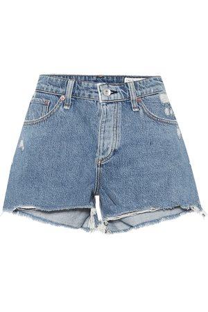 RAG&BONE Women Shorts - Dre distressed denim shorts