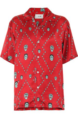 Kirin Women Short sleeves - Printed satin bowling shirt