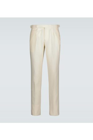 Incotex Men Skinny Pants - Slim-fit linen pants