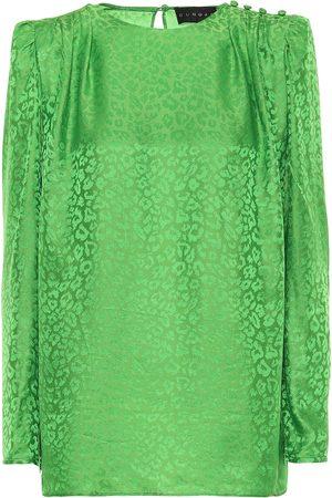 Dundas Women Blouses - Leopard-jacquard blouse