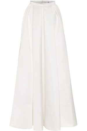 TEMPERLEY LONDON Women Maxi Skirts - Betsy satin bridal maxi skirt
