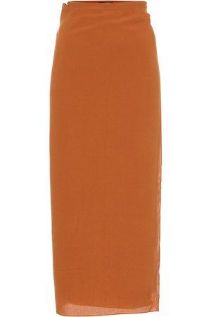 Haight Wrap midi skirt