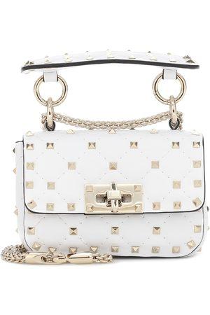 VALENTINO GARAVANI Women Shoulder Bags - Rockstud Spike Mini leather crossbody bag