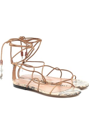Isabel Marant Jindia beaded suede sandals