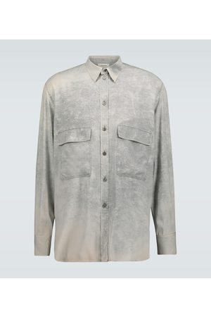 Rochas Men Long sleeves - Quartilla long-sleeved silk shirt