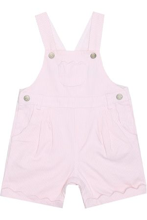 Tartine Et Chocolat Dungarees - Baby stretch-cotton overalls