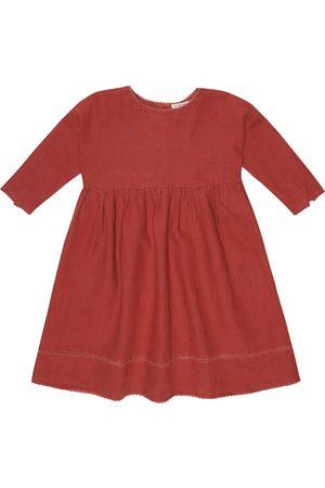 Caramel Girls Dresses - Wimbledon linen dress