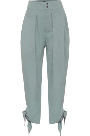 Isabel Marant Gaviao high-rise cotton pants