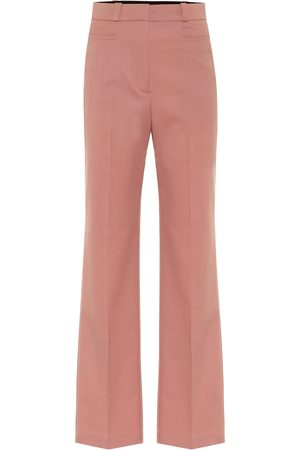 AlexaChung Women Straight Leg Pants - High-rise straight pants