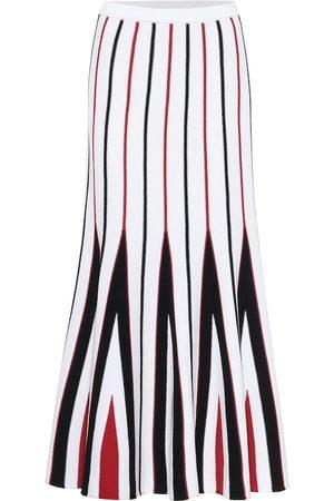 GABRIELA HEARST Aegina high-rise wool skirt