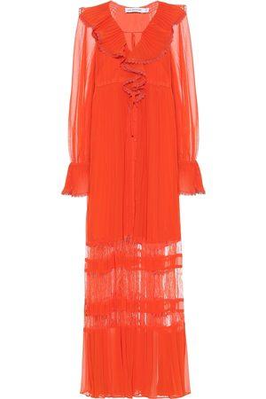 Self-Portrait Women Maxi Dresses - Ruffled chiffon maxi dress
