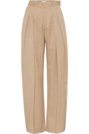 J.W.Anderson Women Straight Leg Pants - High-rise virgin wool pants