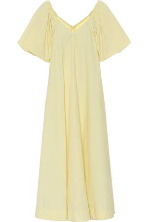 CO Women Midi Dresses - Tton-blend poplin dress