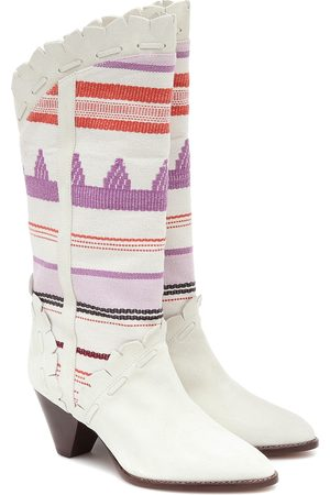 Isabel Marant Women Heeled Boots - Leesta cowboy boots