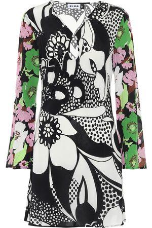 RIXO London Women Printed Dresses - Julie floral crêpe minidress