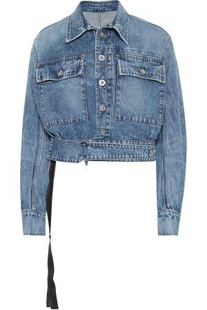 UNRAVEL Women Denim Jackets - Cropped denim jacket