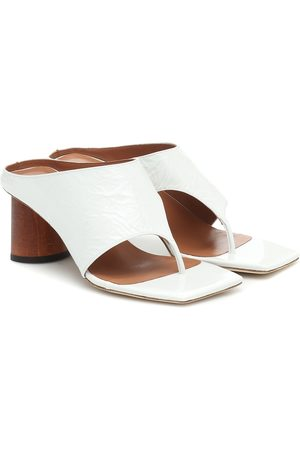 REJINA PYO Women Sandals - Lina leather thong sandals