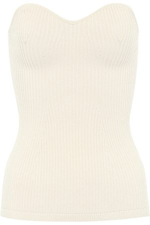 Khaite Lucie ribbed-knit top
