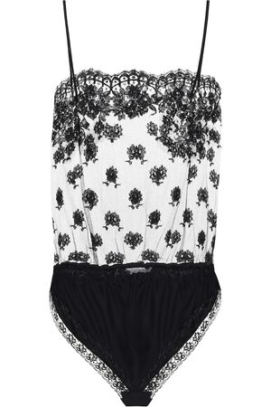 Stella McCartney Women Bodies - Floral-lace bodysuit