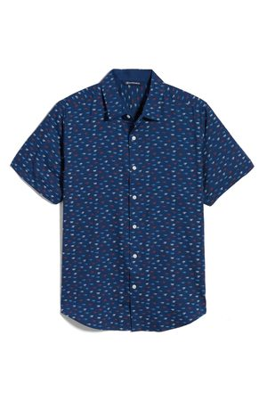 Cutter & Buck Men's Windward Short Sleeve Button-Up Shirt