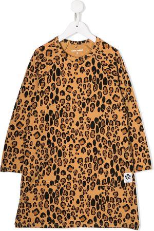 Mini Rodini Leopard pattern shift dress