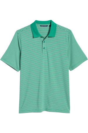 Cutter & Buck Men's Big & Tall Forge Drytec Stripe Performance Polo
