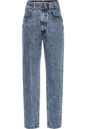 Maison Margiela Ripped high-rise jeans