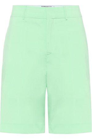 Bernadette Emma taffeta Bermuda shorts