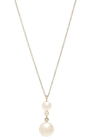 SOPHIE BILLE BRAHE Exclusive to Mytheresa – Perla Simple 14kt yellow and pearl necklace