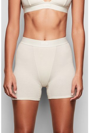 SKIMS Women's Cotton Rib Boxers